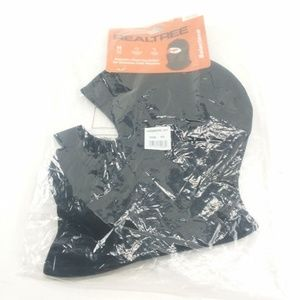 Realtree Black Unisex Fleece Balaclava Headwear OS